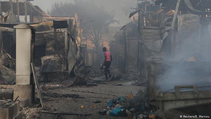 نيران الجحيم ـ تاريخ مخيم موريا 3