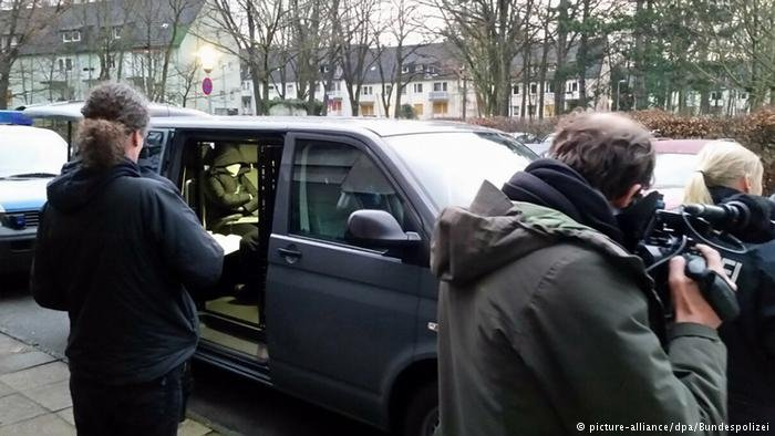 Raids were carried out in Berlin on an alleged trafficking ring