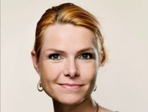 وزيرة الهجرة والاندماج الدنماركية إنغر ستويبرغ. أرشيف