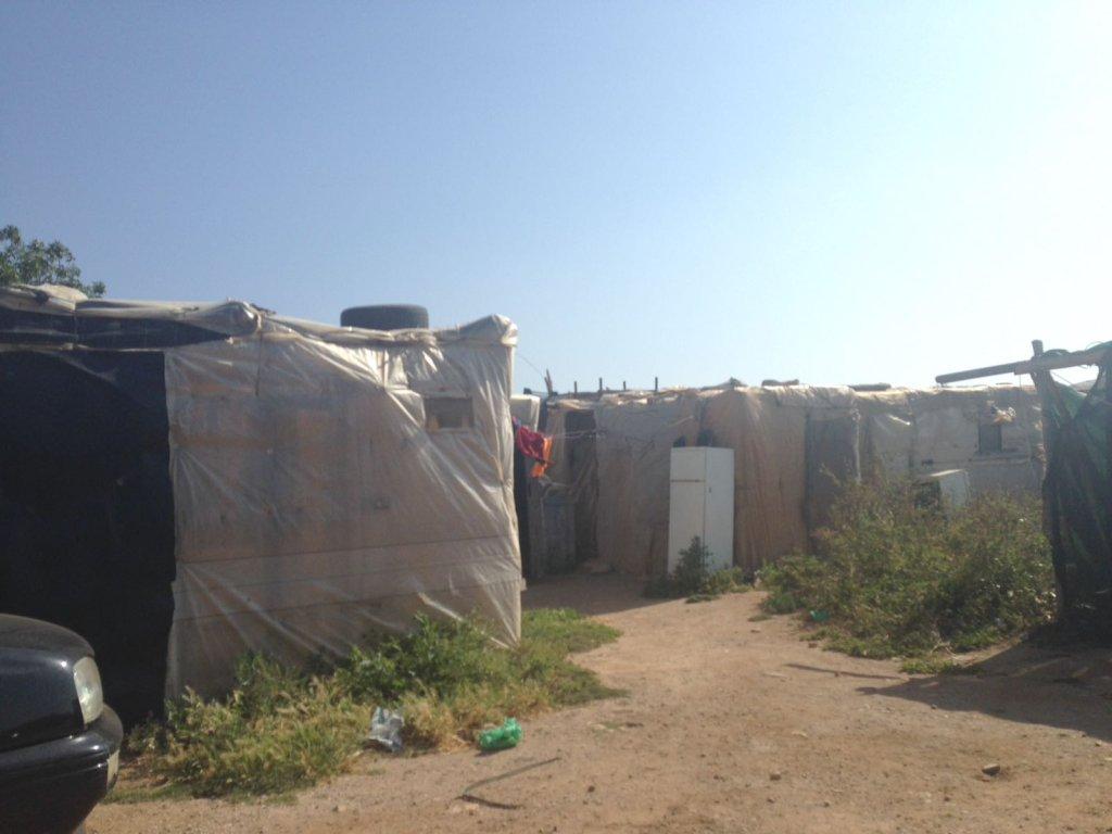 مخيم عشوائي يسكنه مهاجرون غالبيتهم مغاربة/ بوعلام غبشي