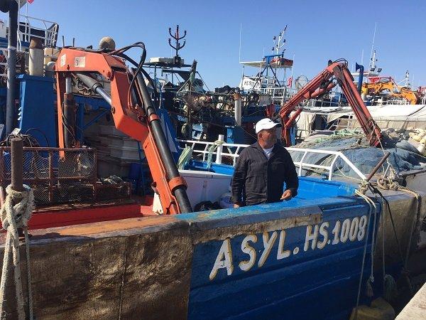 Salaheddine un pcheur de Zarzis qui a dj secouru des embarcations de migrants tunisiens en dtresse Crdit  InfoMigrants