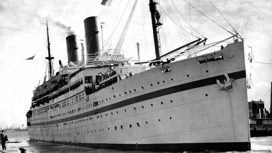 The Windrush scandal takes its name after the Empire Windrush which was the first vessel to bring Caribbean national to the UK under the British Nationality Act of 1948  PHOTO picture-allianceempics
