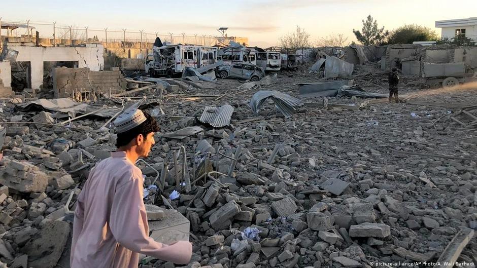 LAfghanistan reste ravage par la violence et la pauvret  Photo picture-allianceAP PhotoA Wali Sarhadi