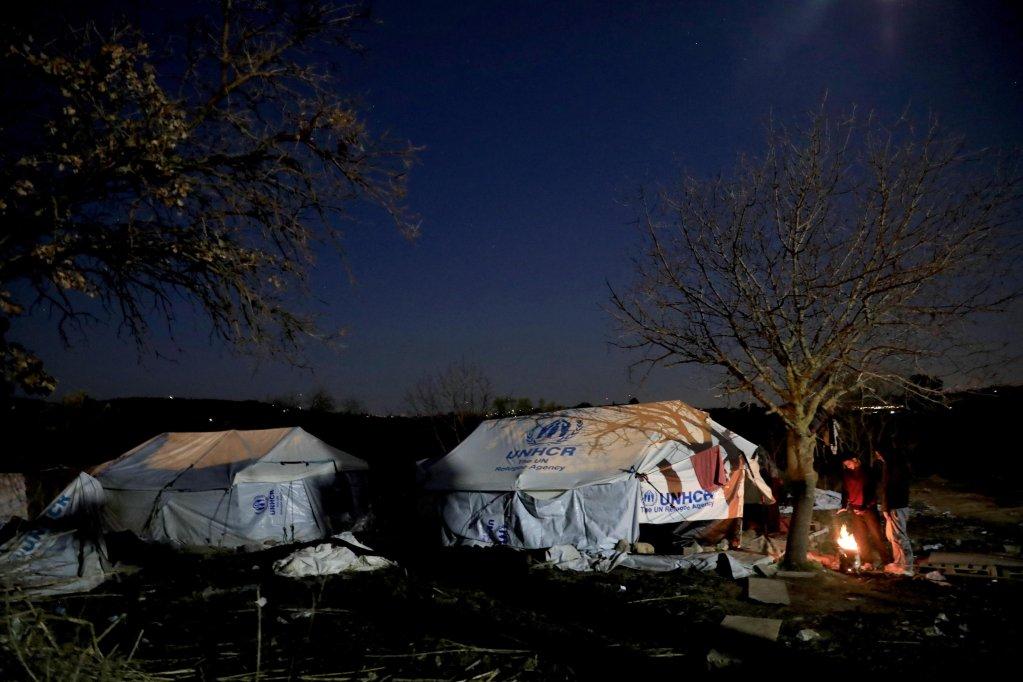 ANSA / مخيمات الجزر اليونانية وصلت إلى نقطة الأزمة / حقوق الصورة: جيورجوس موتافيس/ منظمة العفو الدولية.