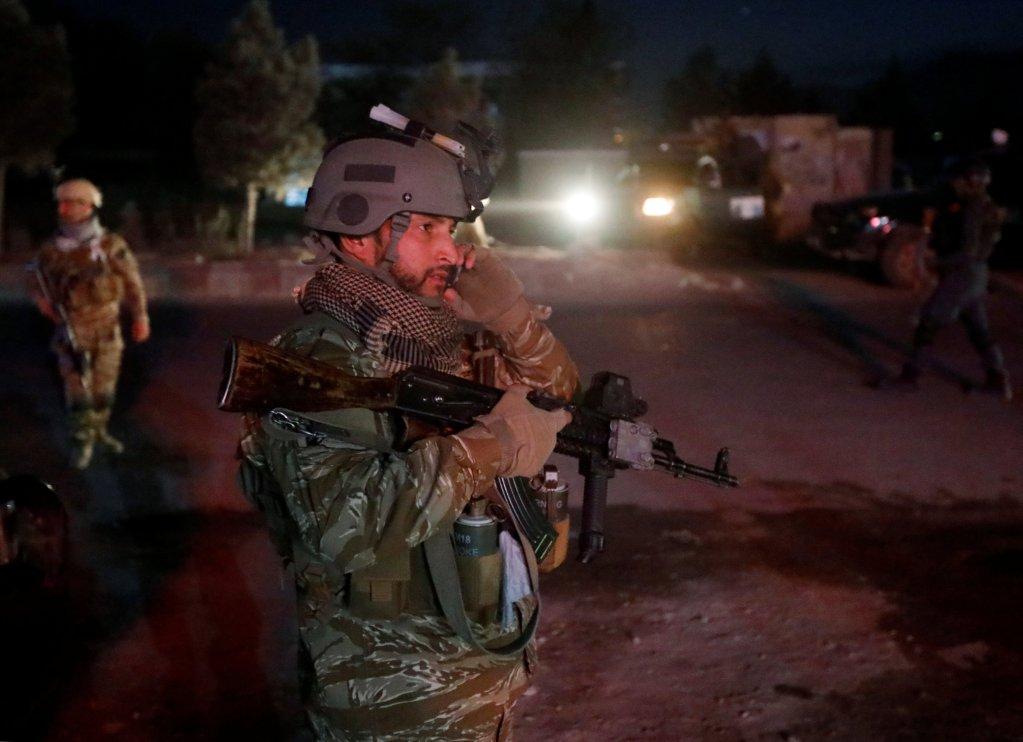 د افغان امنيتي ځواکونو په کابل کې.  رویترز
