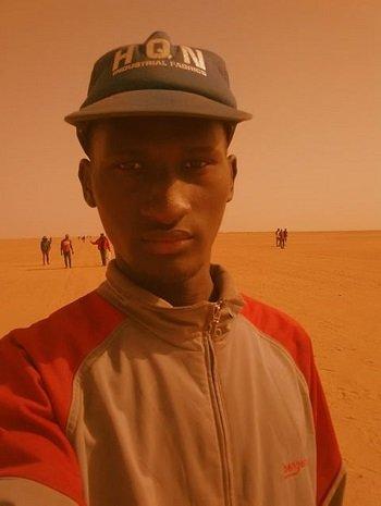 Sylla Ibrahima Sory a photographié et documenté sa traversée du désert entre l'Algérie et le Niger. Crédit : Sylla Ibrahima Sory