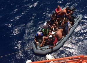 A rising number of unaccompanied minors are arriving in Spain | Credit: Maritime rescue society