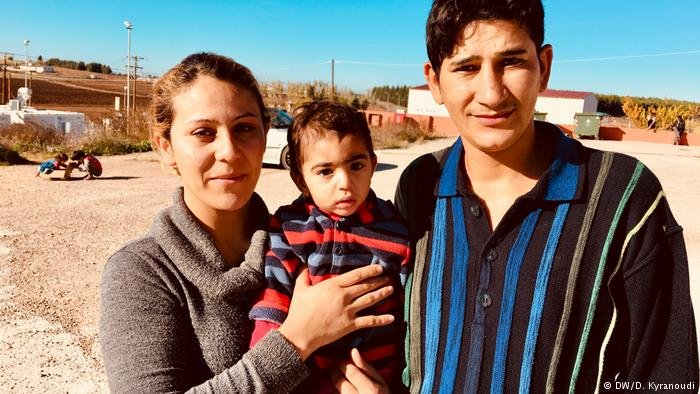 silav from Northern Iraq came to Greece with her husband - and a child they found on their way and adopted as their own.