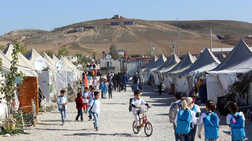 أ ف ب (أرشيف) |مخيمات اللاجئين السوريين في تركيا. كانون الأول/ديسمبر 2015