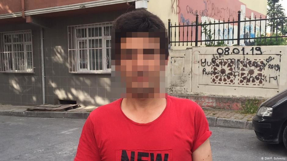 Bakhtyar says he was illegally deported back to Turkey  Photo DWF Schmitz