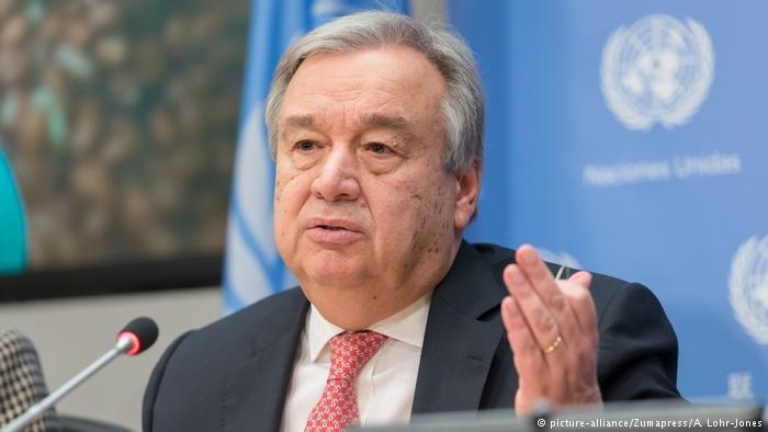 UN Secretary General Antonio Guterres called for an investigation