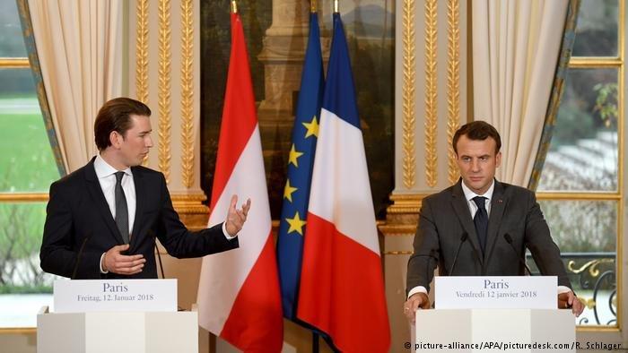 Kurz is not a huge fan of Macrons ambitious ideas on EU integration