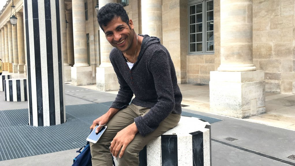Abdul Saboor got subsidiary protection-- including a one-year leave to remain-- from the French Office for the Protection of Refugees and Stateless Persons when he arrived in France in October 2017. (Photo: InfoMigrants)