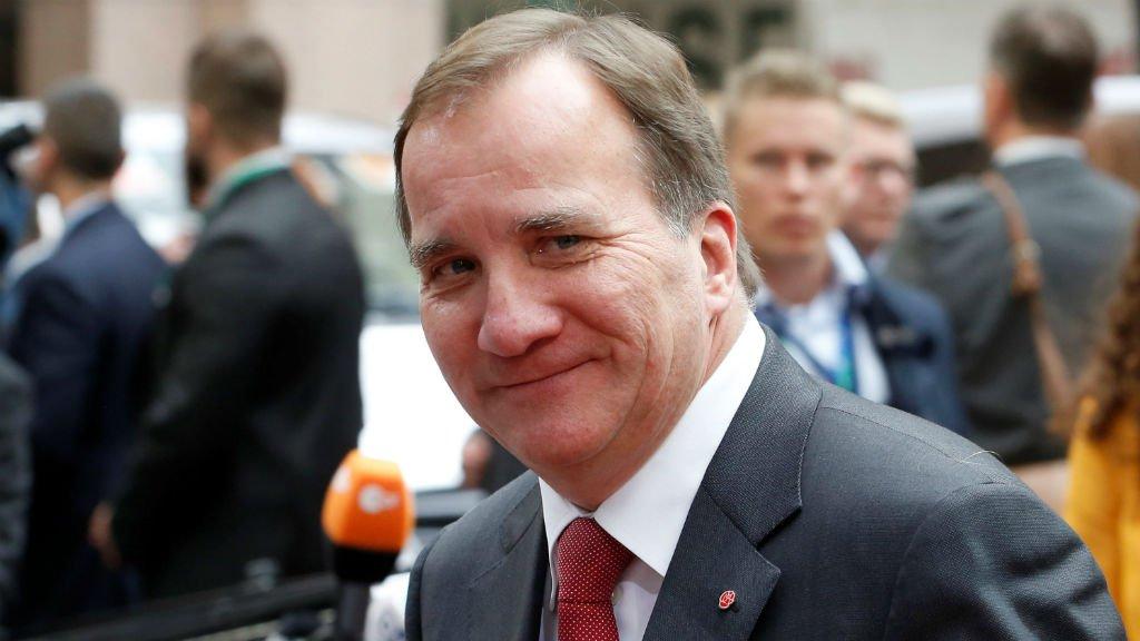 رئيس الوزراء السويدي ستيفان لوفن، 19 تشرين الأول / أكتوبر 2017. الصورة: رويترز