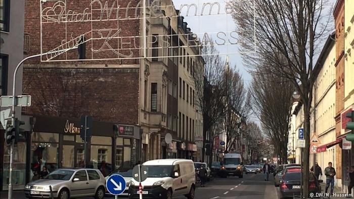 يرى بعض قاطني شارع كويب شتراسه في كولونيا أن العملية العسكرية في عفرين أثرت على العيش المشترك.