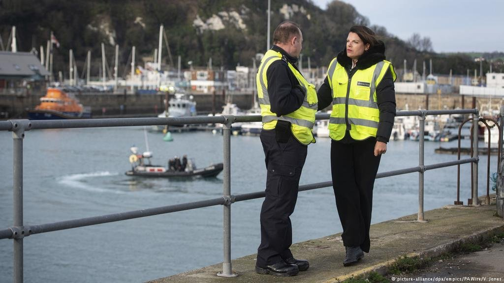 Immigration Minister Caroline Nokes (pictures right) spoke to Border Force staff in Dover | Credit: picture-alliance/dpa/empics/PAWire/V. Jones