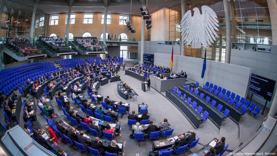Le parlement allemand appel Bundestag  Photo picture-alliancedpaJ Bttner