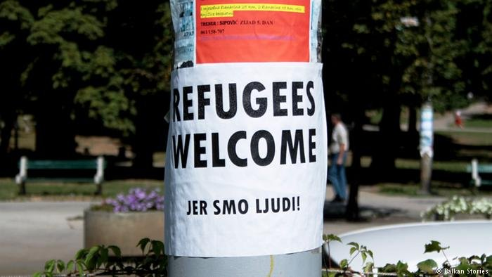 """Jer Smo Ljudi: Bosnian for """"We are all people"""""""