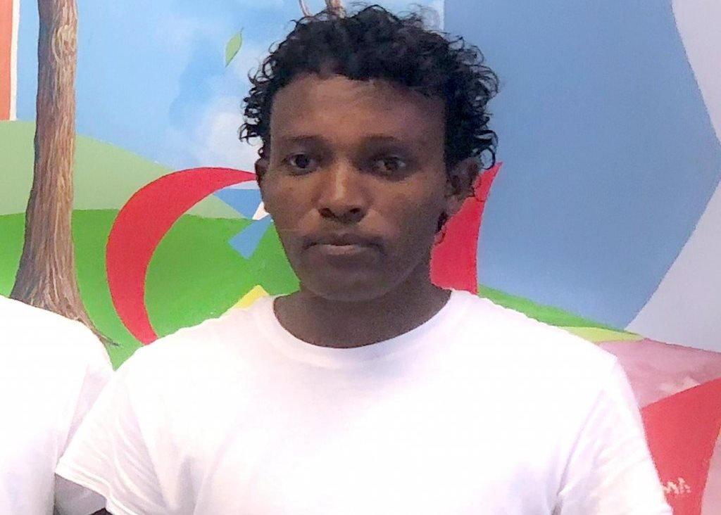 Josief Kasete, migrant from Eritrea | Credit: ANSA