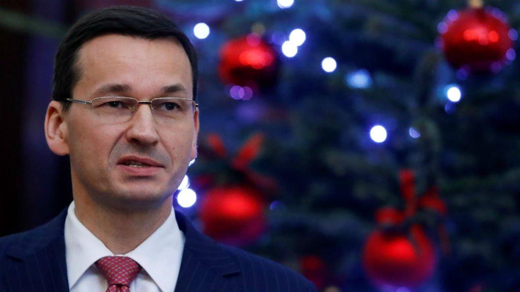 رئيس الوزراء البولندي ماتيوش مورافيسكي / رويترز