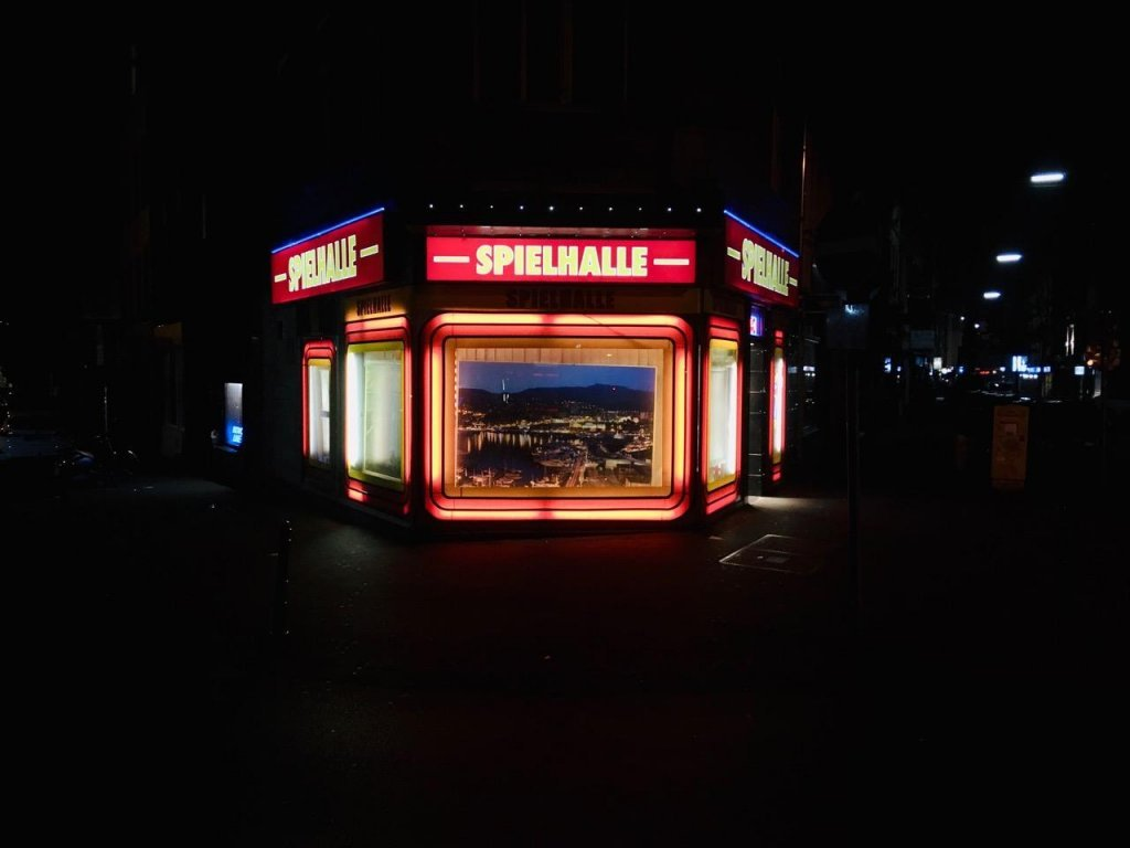 Some gambling parlors like this one in Cologne are often open 24 hours a day  Photo Marco Wolter