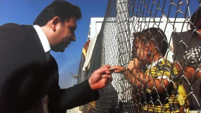 الصيدلاني السوري كان يساعد اللاجئين السوريين في المخيمات الواقعة في مناطق المعارضة