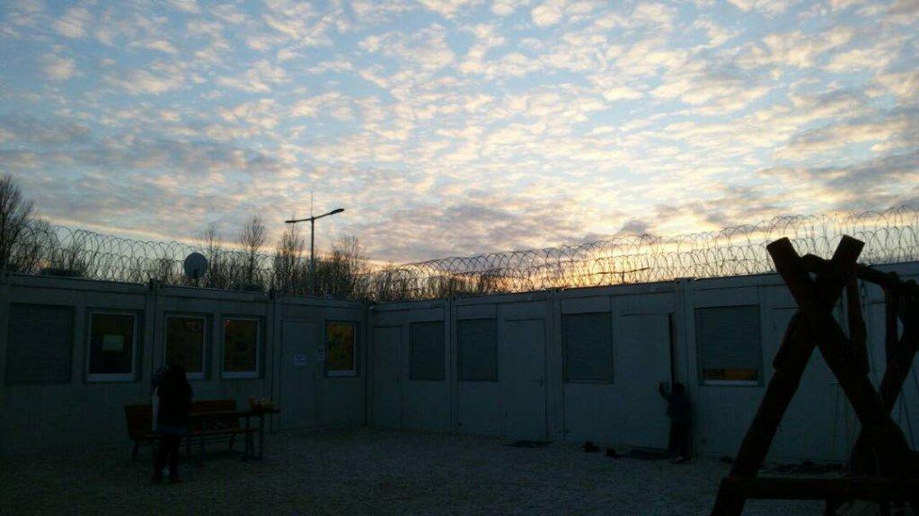 نمایی از کمپ روزکه در مجارستان، عکس از نرگس فاضلی