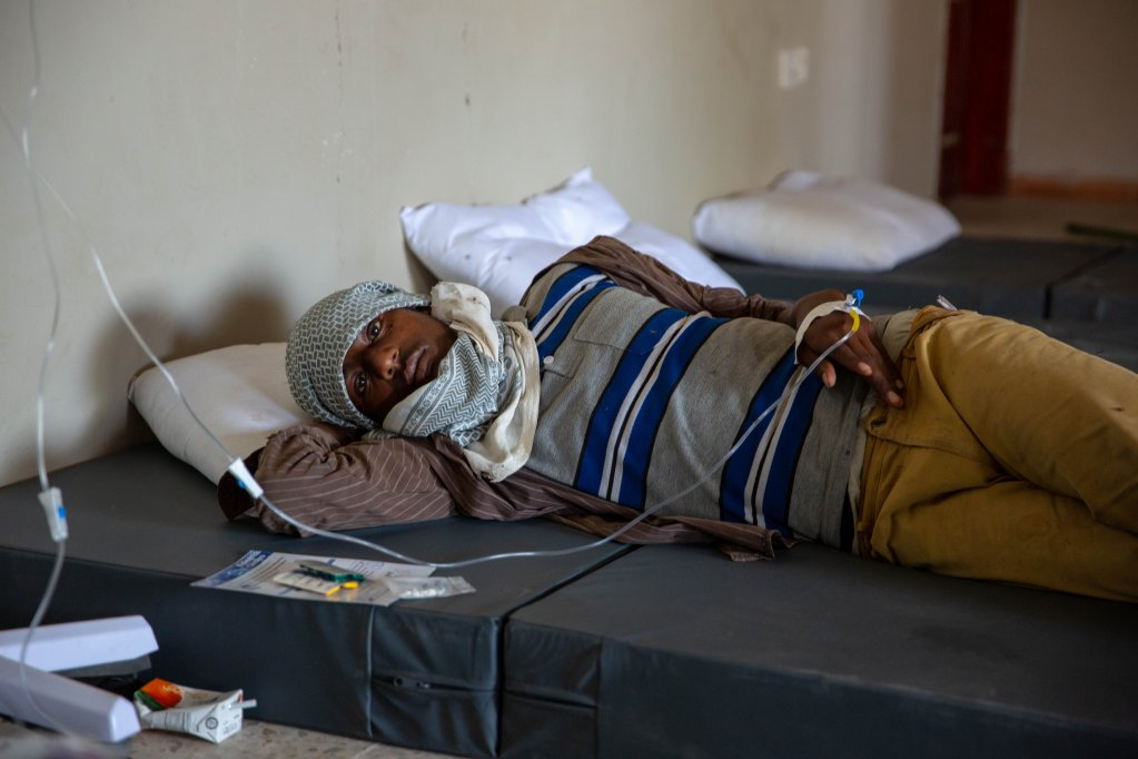 At least 14 people have died from complications related to AWD  Photo credit IOM