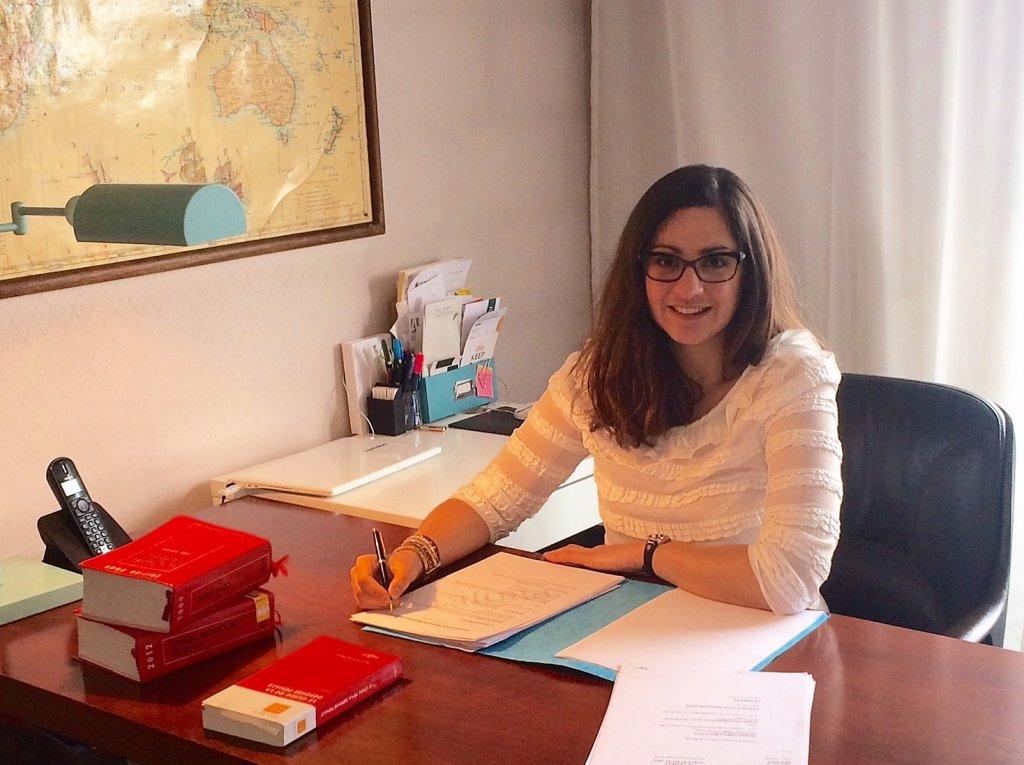 Me Aude Rimailho, avocate du Barreau de Paris spécialiste du droit d'asile.  Crédits : Aude Rimailho