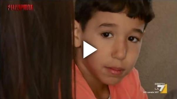 A boy born to Moroccan parents, interviewed by Italian TV La 7 | Source: Video report La 7