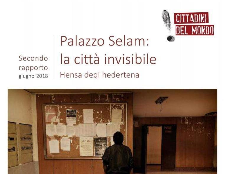 The cover of the report. Credit: Associazione Cittadini del Mondo