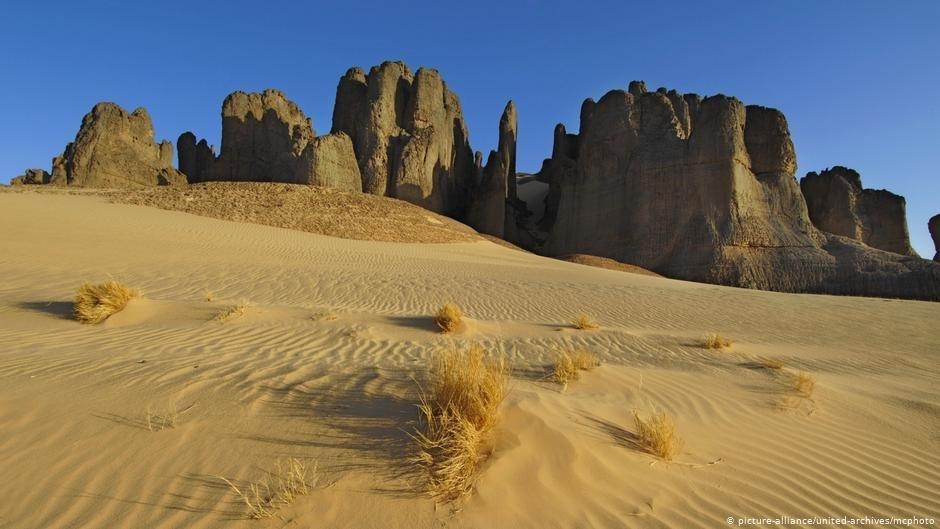 Un tombeau en sable : beaucoup de migrants meurent dans le désert du Niger  | Photo : picture-alliance/united-archives/mcphoto