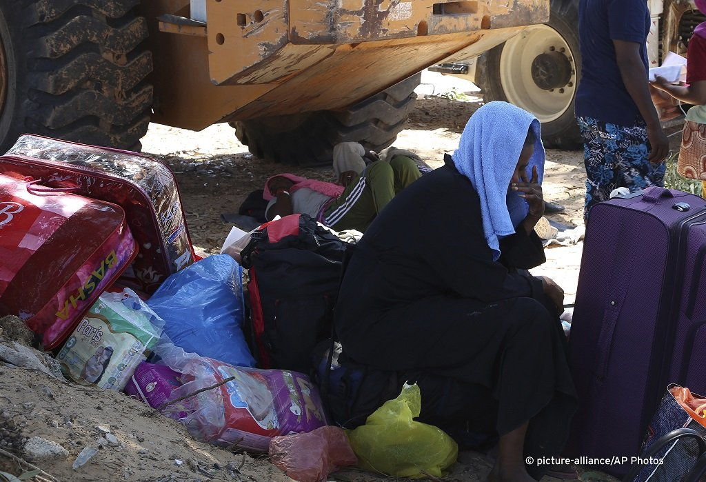 Aftermath of the airstrike on Tajoura detention center, Libya, July 3, 2019 / Photo: Hazem Turkia/picture-alliance