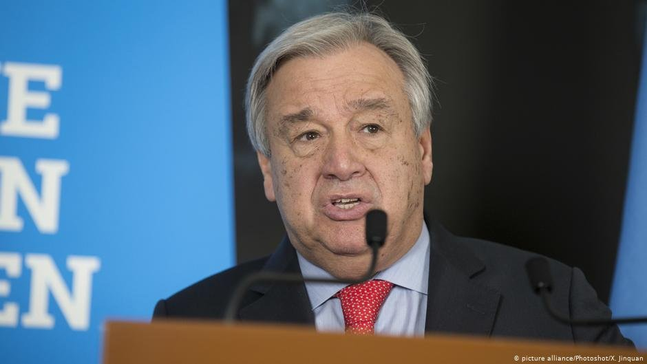 UN Secretary General Antonio Guterres said that every migrant searching for a better life deserves safety and dignity  COPYRIGHT picture-alliancePhotoshotX Jinquan