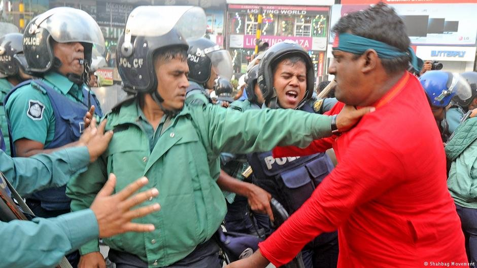Munshi and his supporters faced death threats from religious hard-liners in Bangladesh | Photo: Shahbag Movement