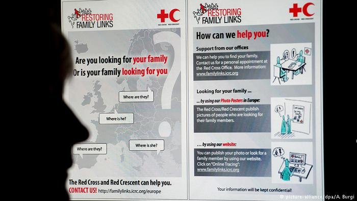 International Committee of the Red Cross restoring family links