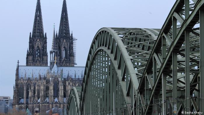 Having a multicultural background Isabel Schayani calls the western German city of Cologne her home town  Photo Eesha Kheny