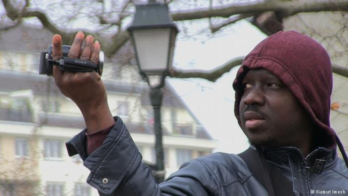 Ivorian Kumut Imesh filmed the route he set out on as a refugee in 2004   Credit: Kumut Imesh