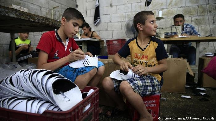 Only one third of Syrian refugee children in Turkey are enrolled in school according to UNICEF