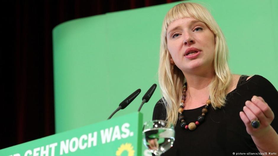 لوئیزه امتسبرگ نماینده حزب سبز ها در پارلمان آلمان فدرال
