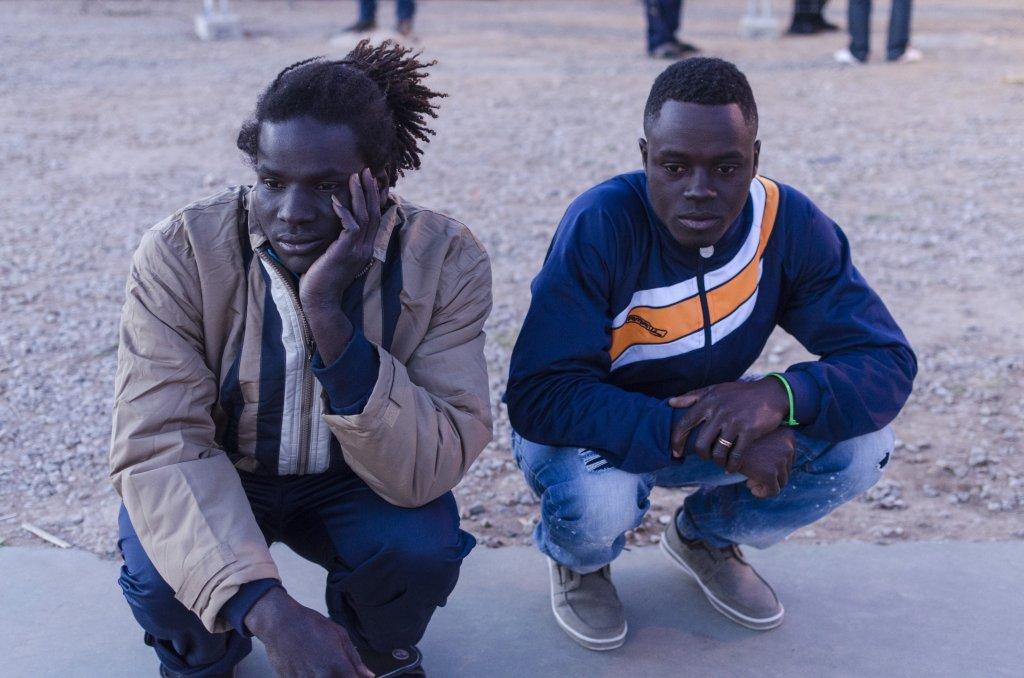 Des migrants à Melilla | Photo: Port Causa Foundation