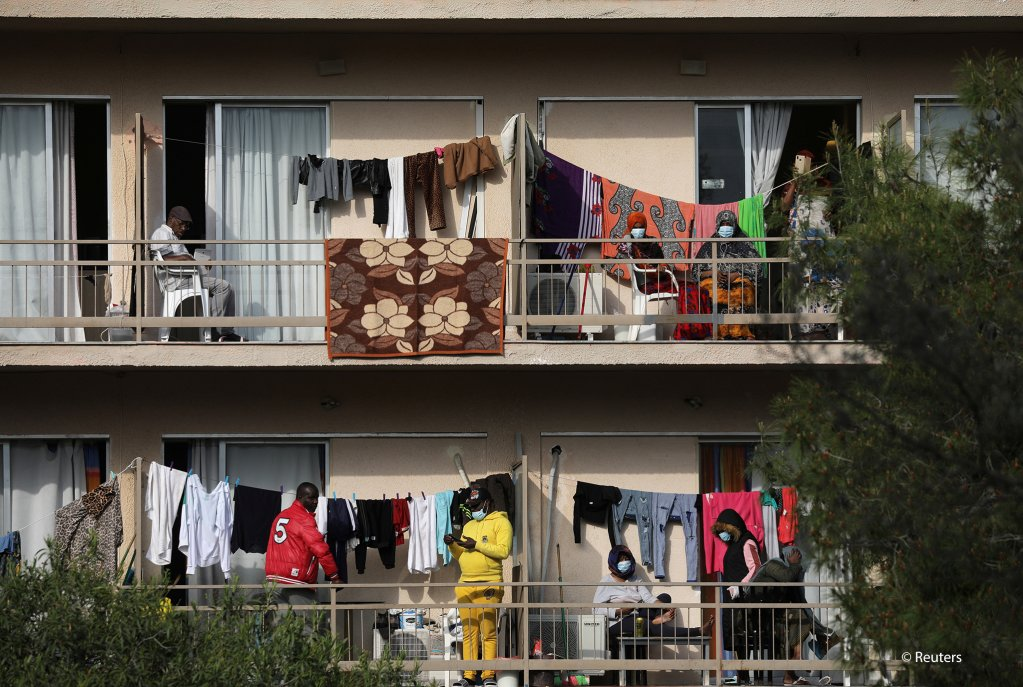 Residents and staff at the hostel are now in quarantine | Photo: Reuters / Costas Baltas