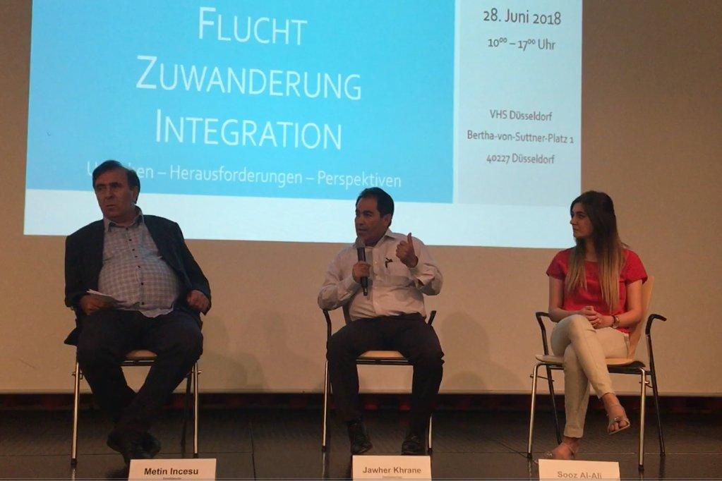 لاجئون من ثلاثة أجيال يتحدثون عن تجاربهم في الاندماج في المجتمع الألماني