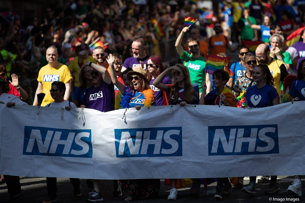 A march to protest against cuts to the NHS in the UK  Photo Imago  Zuma Joel Goodman