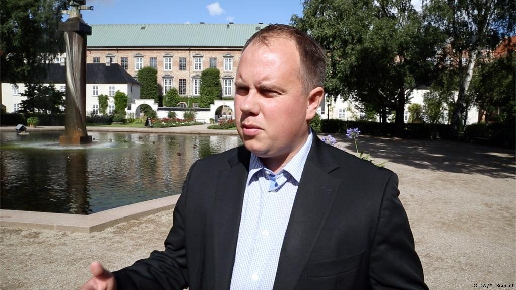 DF Party spokesman Martin Henriksen is undeterred by those who say that the idea of removing unwanted asylum seekers to Lindholm Island is unfeasible  Credit DWM Brabant