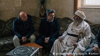 كيزلهان في لقاء مع أعلى رمز ديني إيزيدي