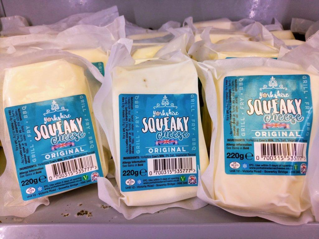 Le fromage qui grince sous la dent made in Yorkshire lempire laitier de Razan Alsous se dveloppe trs rapidement  Crdit  Sertan Sanderson