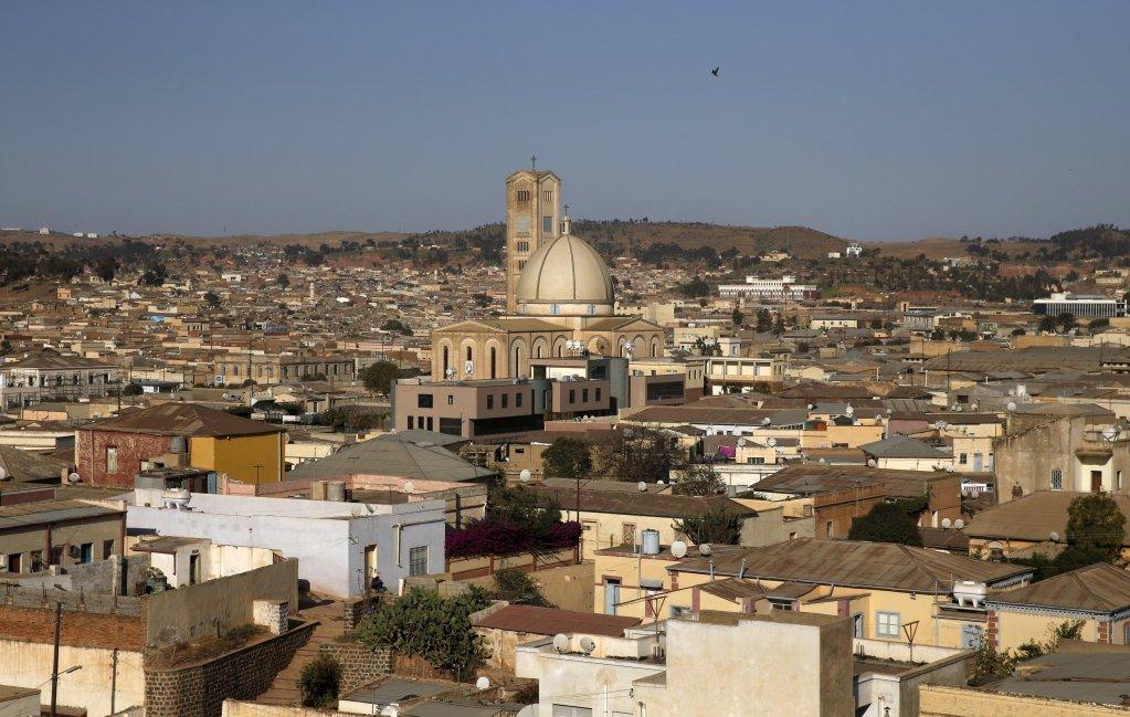 REUTERS/Thomas Mukoya |Vue aérienne d'Asmara, la capitale de l'Erythrée