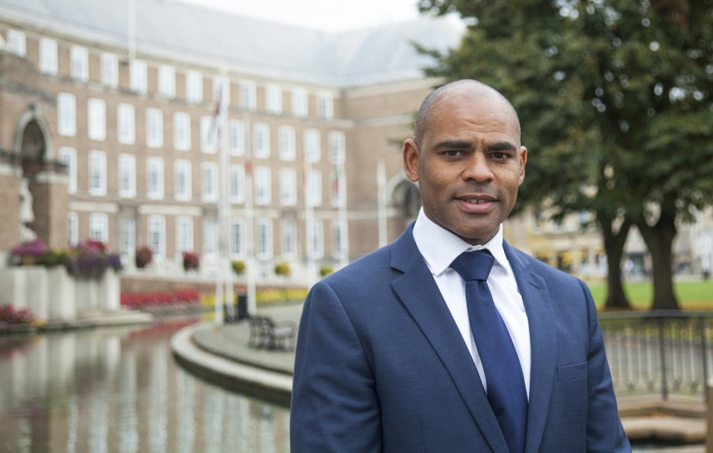 Bristol Mayor Marvin Rees  Photo IOM