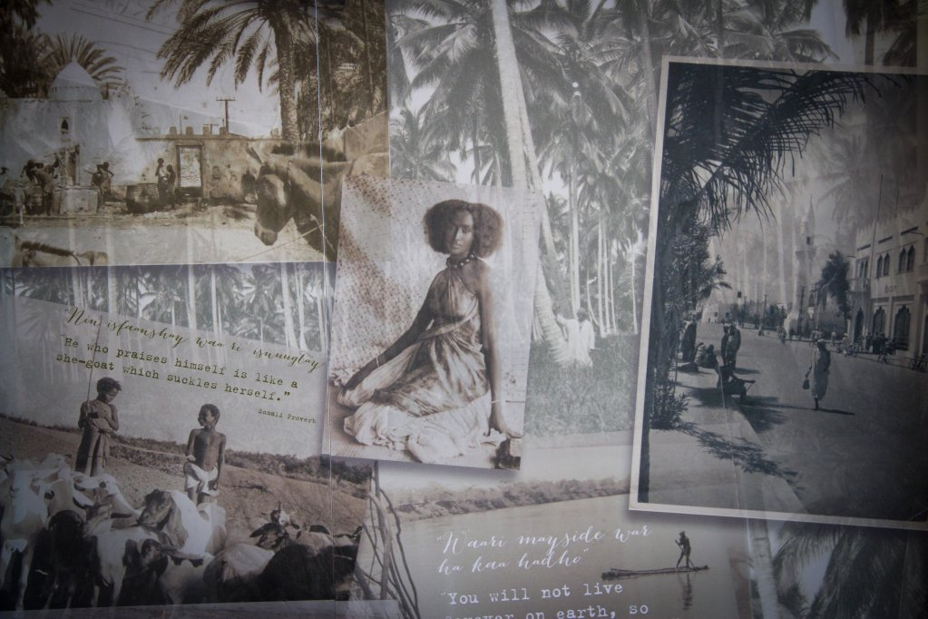 Archive photos of younger generations of Somalians and Somalilangers | Credit: Eve Andreski, M Shed Bristol City Museums